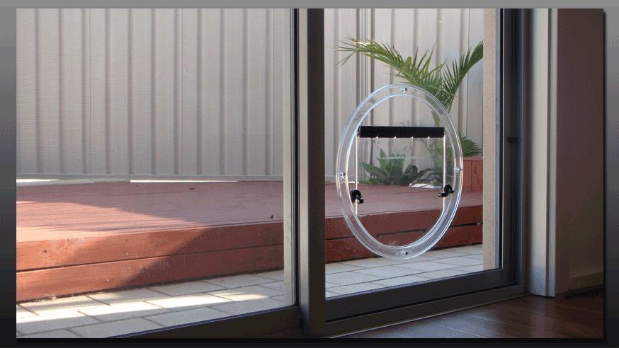Hartley Glass Adelaide Pet Doors